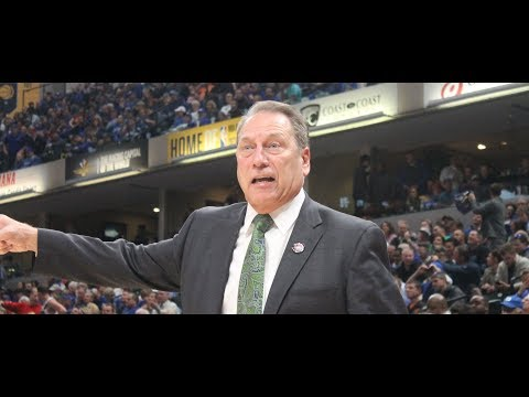 MSU Coach Tom Izzo After Loss to Kansas in the Champions Classic.