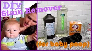 DIY Baby Poop Stain Remover