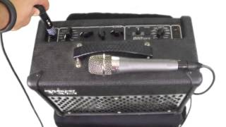 Whirlwind Little IMP tut๐rial - How to plug a microphone with XLR into a 1/4
