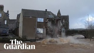 building-collapses-into-river-as-storm-ciara-batters-scotland