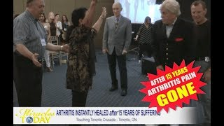 15 Years of Arthritis Pain is GONE!