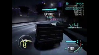 Need For Speed Carbon Dump Truck Drift 300k