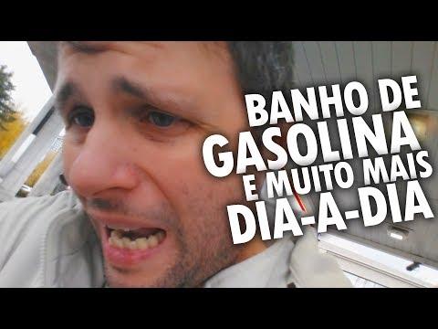 DIA-A-DIA no CANADÁ - VAZOU GASOLINA + TRABALHO da FABIANA + DIFICULDADES na ESCOLA - Vlog Ep.64