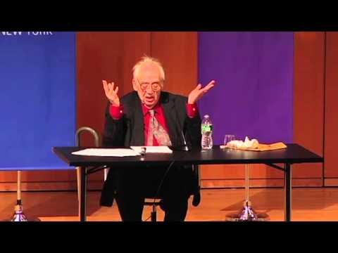 Harold Bloom Lecture on Walt Whitman