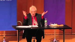 Harold Bloom Lecture On Walt Whitman