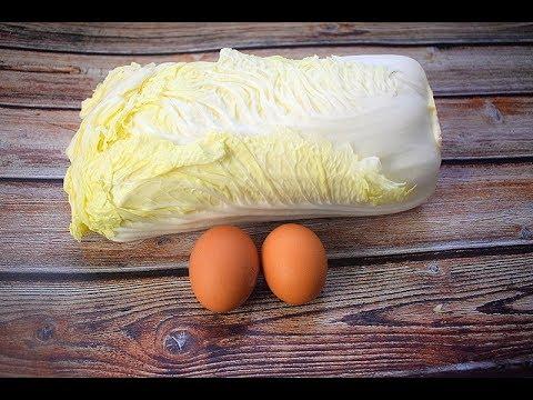 1棵白�,2个鸡蛋,简�一�,我家一周�4次,比�肉还香�