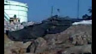 Wysadzanie skal pod zbirniki z ropa naftowa