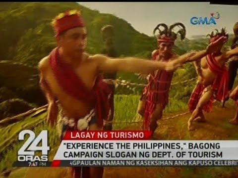 """24 Oras: """"Experience The Philippines,"""" bagong campaign slogan ng Dept. of Tourism"""