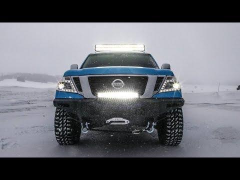 2019 Nissan Armada Snow Patrol Is Ready