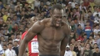 Usain Bolt false starts, disqualified in 100m; Blake wins 2011 Championship