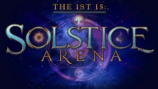 The 1st 15: Solstice Arena