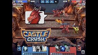 New High - 6,400 Trophies! Castle Crush #85 gameplay walkthrough