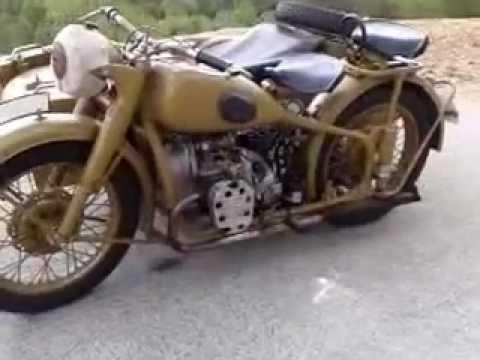 Ural M72 1942 Germanis 233 E Bmw R71 Youtube