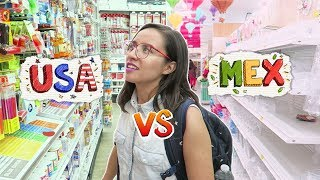 PRODUCTOS que NO VENDEN en MÉXICO | Papelerías USA vs MEXICO ¿Cuál es la diferencia? ✄ Craftingeek