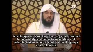 the 10 days of dhul hijjah shaikh mohammed al arifi