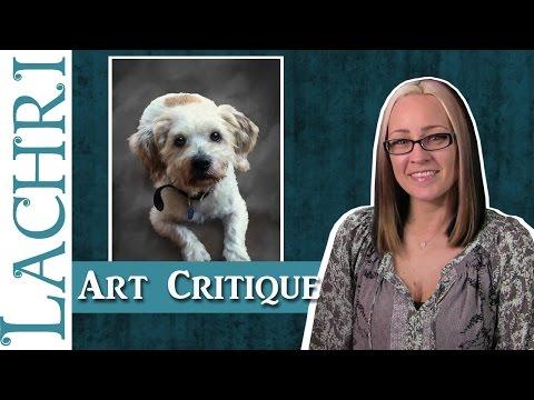 Digital Painting Portrait Art Critique - tips w/ Lachri