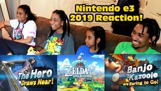 THESE GAMES ARE LOOKING CLEAN! LINK'S AWAKENING REMAKE! Nintendo E3 2019 Reaction!