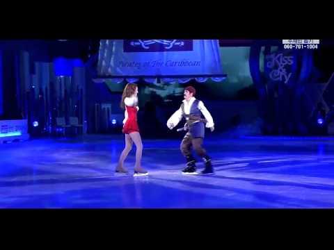 110731 Kiss & Cry - Krystal Perform Pirate of Caribbean