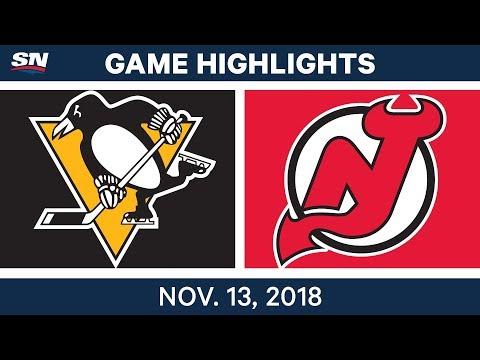 NHL Highlights | Penguins vs. Devils – Nov. 13, 2018