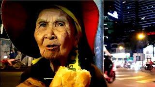 Thương Bà ngoại 84 tuổi lang thang bán vé số mưu sinh (ngủ ngoài đường)