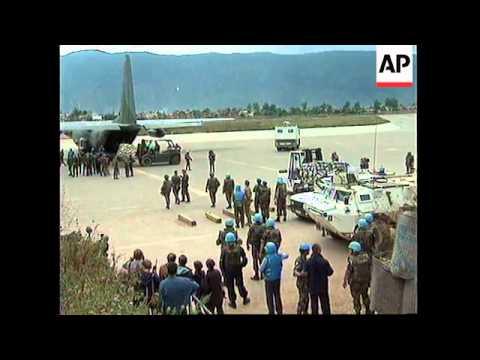 SARAJEVO: FIRST FLIGHT IN 5 MONTHS LANDS AT AIRPORT