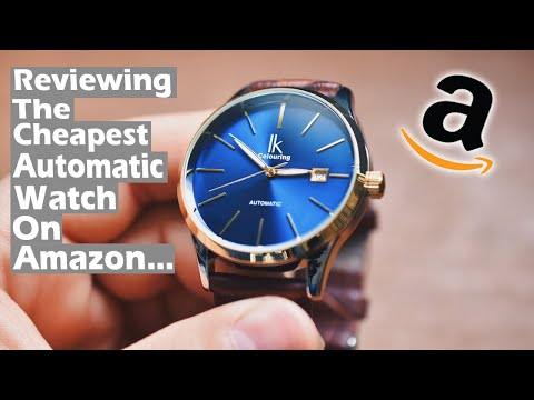 Reviewing The Cheapest Automatic Watch On Amazon! (Very Surprised)