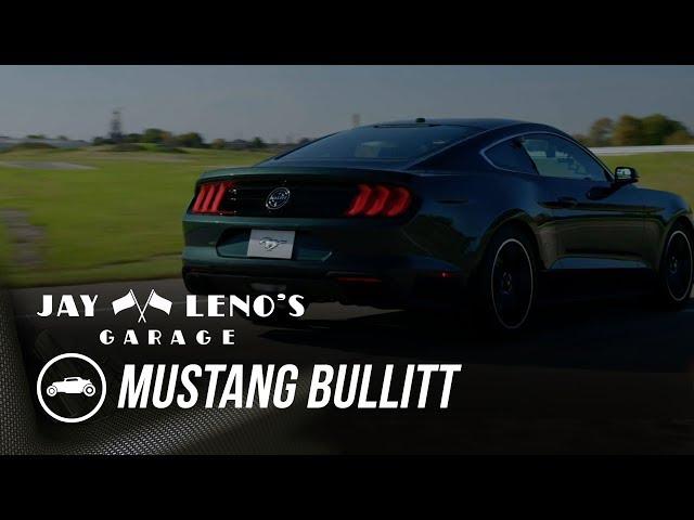 EXCLUSIVE: 2019 Mustang Bullitt and 1968 Mustang from 'Bullitt'  - Jay Leno's Garage