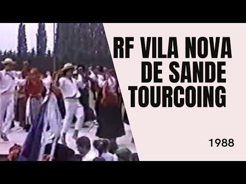 GF do Centro Social de Vila Nova de Sande Guimaraes em França 1988