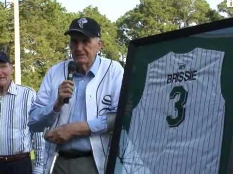 Lou Brissie Retires Jersey