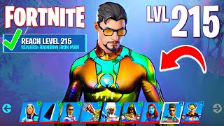 UNLOCKING RAINBOW IRON MAN! (Fortnite Season 4)