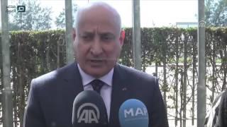 مصر العربية | رفع العلم التركي أمام مقر