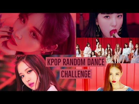 KPOP RANDOM DANCE CHALLENGE [YOUR VERSION]