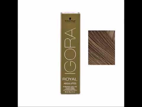 schwarzkopf professional igora royal absolutes hair color 6 60 - Coloration Igora Royal