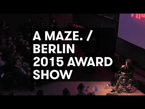 Award Ceremony - A MAZE. / Berlin 2016