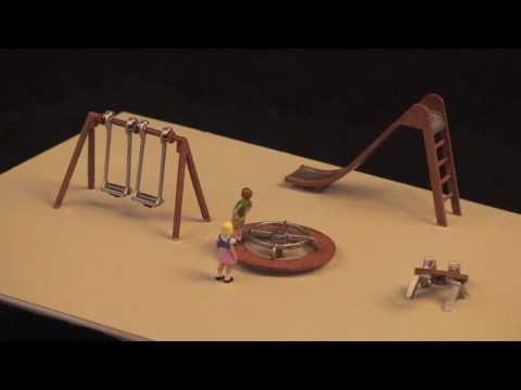 ANIMATED PLAYGROUND HO MODEL RAILROAD