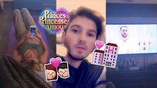 Sébastien (LPDLA5) avec sa FEMME 💏 dans SON nouvel APPART 🏠💖! Les Princes et Princesses de l'Amour