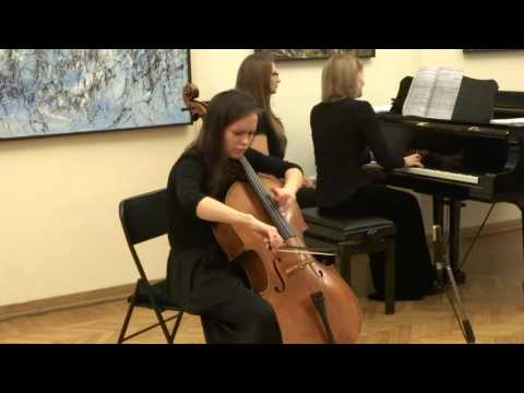 Debussy. Menuet for cello and piano