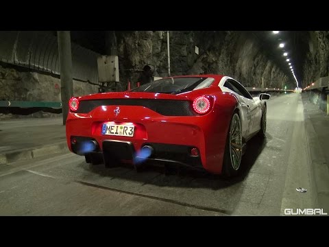 LOUDEST Ferrari 458 Speciale EVER!