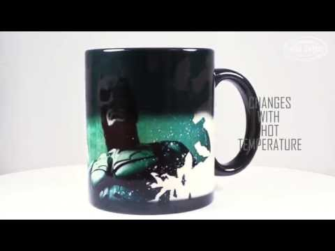 Dark knight Trilogy (Batman Bats) Morphing Mugs Heat-Sensitive Mug