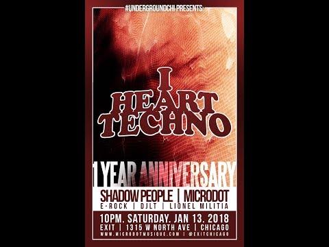 I Heart Techno Chicago - 01.13.2018 (Promo Mix)