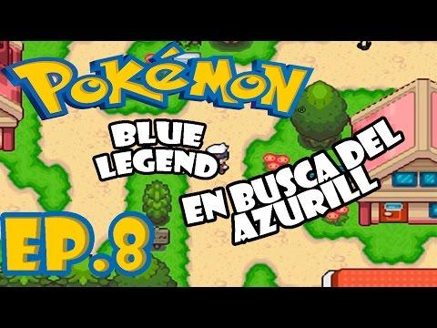 Pokémon Blue Legend (Hack) | Ep.8 Quiero ese chimchar | Anto7G