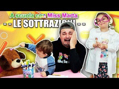 IMPARIAMO LE SOTTRAZIONI - A scuola con Miss Marta