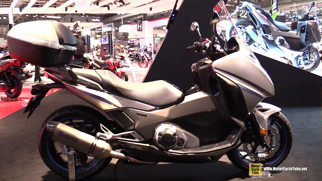 2016 honda integra 750 dct walkaround 2015 eicma milan. Black Bedroom Furniture Sets. Home Design Ideas