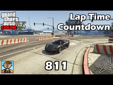 Fastest Supercars (811) - GTA 5 Best Fully Upgraded Cars Lap Time Countdown