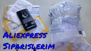 Aliexpress'ten Gelen Siparişlerim Paket Açılımı  Unboxing