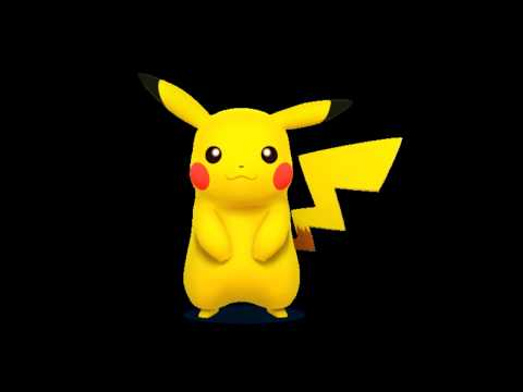 SFX Super Smash Bros 3DS Pikachu Sound Effects Quotes