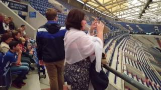 Sightseeing Veltins-Arena (Arena AufSchalke), Gelsenkirchen 2016, part 1