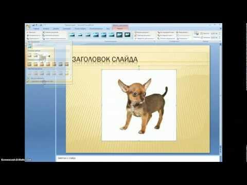 PowerPoint Удаление фона рисунка