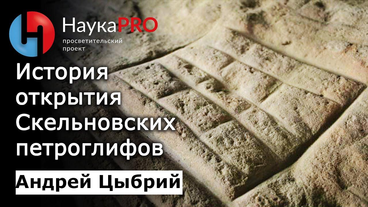 Андрей Цыбрий - История открытия Скельновских петроглифов