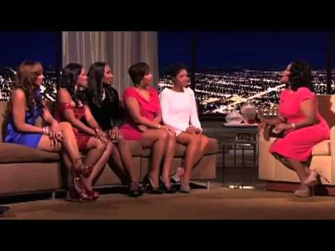 The Mo'Nique Show - Interview with The Braxtons (2011) (Part 2)